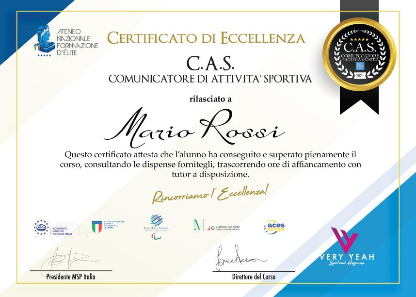certificatocas